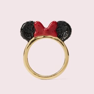 NWOT kate spade new york x minnie mouse ring